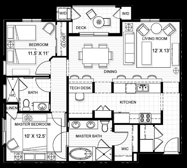 2 Bedroom Apartment In Torrance